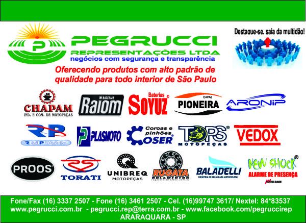 Anúncio Pegrucci - MOTOBOY 2016